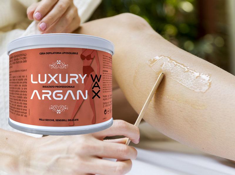 Argan Wax: La prima ceretta con Olio di Argan per ottenere Risultati Professionali in modo Semplice e Veloce